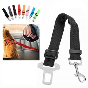 Harness Dog Adjustable Car Safety Pet Dog Seat Belt Pet Accessories Belt Harness Restraint Seat Lead Leash Travel Clip