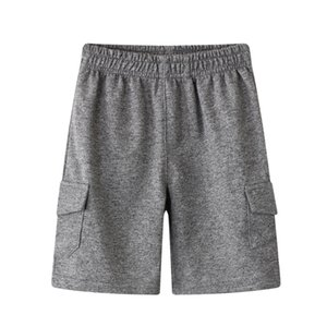 Clothing Style Boys' Sports Beach Children's Solid Casual Pants Summer 2020