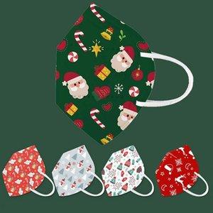 مصمم KN95 قناع الوجه عيد الميلاد سانتا كلوز ثلج هدية أزياء الوجه قناع الكبار kn95 مكافحة الغبار الضباب الحماية faceMask
