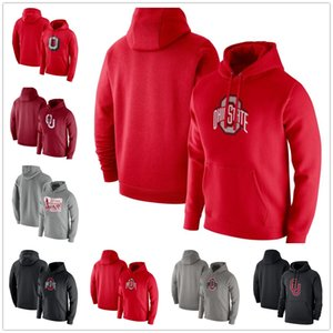Ohio State Buckeyes Homme Sweat Sweatshirt Oklahoma Sweout Sweater Sweat Hoode Pull à manches longues Pull