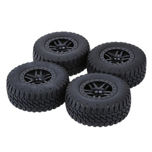 4 Pieces 1 10 Short Course Truck Rubber Tire Tyres for Traxxas HSP Redcat Kyosho RC Car Accessory 110x43mm 4.33x1.69\'\'