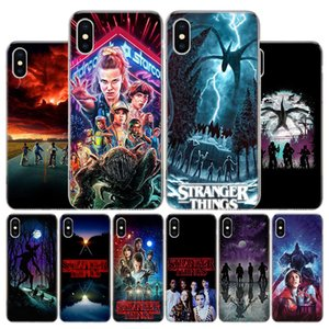 Hot Stranger Things Poster Cover Phone Case For Apple iphone 11 12 Pro XR X XS Max 7 8 6 6S Plus + 7G 6G 5 SE 2020 Coque Popular