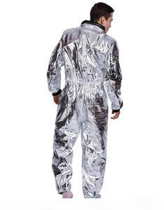 الرجال رائد فضاء تأثيري الدعاوى الفضاء هالوين ملابس النساء ازياء حزب الملابس