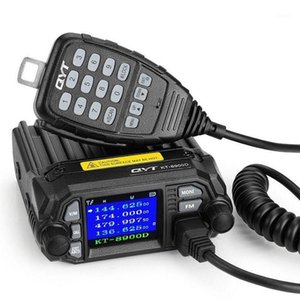 QYT KT-8900D 25W Dual Band Mini Mobile Transceiver Two Way Radio 136~174 400~480MHz Color Screen Quad-Standy Car Radio1