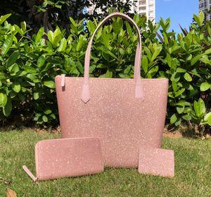 luxury designers bags women full larger glitter crossbody+wallets+card holder sets Vintage glitter family large shoulder bag purses handbag