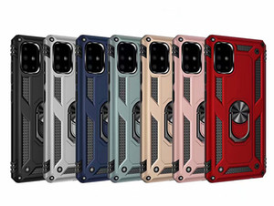 Shockproof Armor Kickstand Magnetic Finger Ring Anti-Fall Cover for Samsung S20 PLUS NOTE20 Ultra Note10 S10 LITE A51 A71 A31 A21S M31S A41