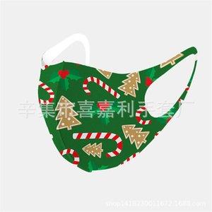 Volto di Natale Maschera attivato la mascherina del carbonio PM2.5 Mouch Natale in bicicletta 3D allenamento Running Mask traspirante Protetive natale H # 587.123.143.666