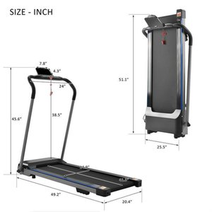 US STOCK High Quality Sports Simple Walking Electric Treadmill For Home Use Factory Price W21506040