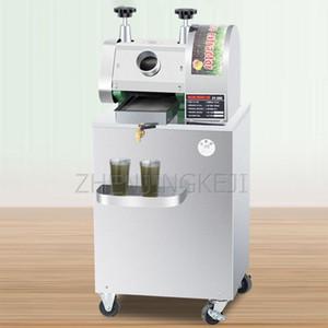 Sugarcane Sıkacağı Dikey Mobil 300 KG / H Sugarcane Makinesi Kamışı Tam Otomatik Şeker Kamışı Suyu Ticari Elektrik Sıkacağı1