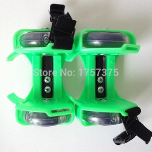 Wholesale-Free Shipping, Evaluation Adult   Child heel wheel shoes With flashing roller D3Tn#
