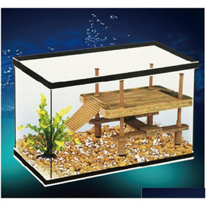 wholesale s m l aquarium reptile turtle floating basking platform pet pier turtle tank supplies decoration decor BQ1LT