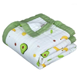 HappyFlute 6-Layer Spitze Design Baby Swaddle Quadratische Form1