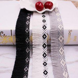 1Yards Lot Dentelle Tassel Ruban Coton Tassels Couper Fringes Tassel Dentelle Pour coudre Lit Vêtements Rideaux DIY Accessoires Décor h Wmtizn