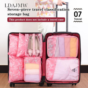 Household Items Set Portable Travel Storage Bag Clothes Shoes Sorting Organizing Bag Suitcase Organizer