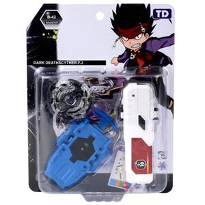 ألعاب Gyro مع قاذفة للأطفال مع المقود والقبض الهوائي مع حزمة اللون LJ200921