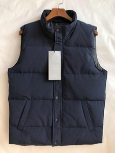 2020 Brand New Mens Freestyle Real Feather Down Winter Fashion Vest Bodywarmer Advanced Windstopper Tessuto impermeabile