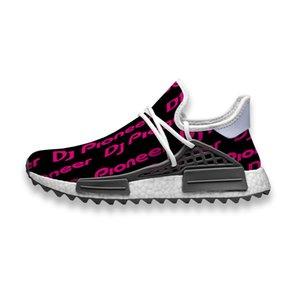 Пользовательские кроссовки Pioneer DJ logo человеческая раса NMD след мужские повседневные кроссовки износостойкие