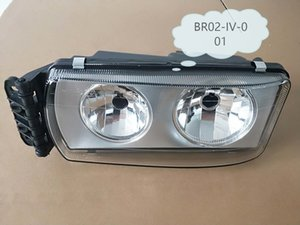 OEM 504020189 Heavy Duty European Truck Body Parts Head Lamp LHD MANUAL RH For IVECO STRALIS