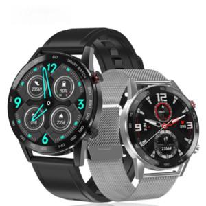 DT95 Bluetooth Call Smart Watch EKG IP68 Wasserdichte Blutdruck Sauerstoffmonitor Sport Smartwatch Männer Lederband Armbanduhren