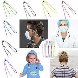 Face Mask Lanyard for Women Men Adjustable Length with Clips Mask Holder Strap Around Neck Hanger Cords String Necklace Kimter-L485FA