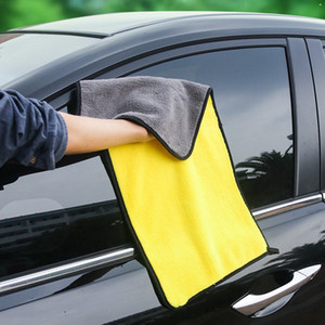 Verdickungshandtuch doppelseitige Korallenfleece Fine Fiber Car Care Washcloth Multifunktionsstärke Starke dicke Handtücher VTKY2307