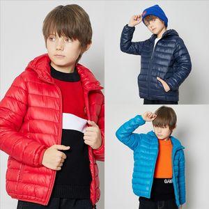 XMO VYw Warm jackets parkas Female coat New high quality Lining down Winter child fashion jacket Women jacket ultralight cool children