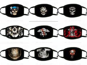 Face Face Masks Skull Printed Designer Mask Facemask Face Masks Mask Designer Funny Hot sqcaO homes2007
