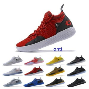 Cheap Sale KD 11 EP White Orange Foam Pink Paranoid Oreo ICE Basketball Shoes Original Kevin Durant XI KD11 Mens Trainers Sneakers
