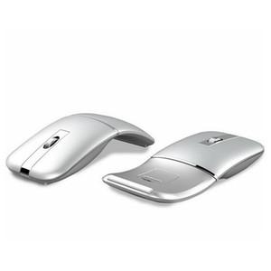 Kuwfi Wireless Maus Tragbare Bluetooth-Computer Maus1600 DPI Optische faltbare Maus Mini-Faltenmäuse für Laptop-PC-Desktop LJ200930