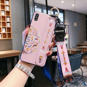 Wrist Strap Mobile Case For Huawei Honor 10 Lite 8X 9X V20 Mate 20 20X P20 P30 Pro Nova 5 3 3i 3e 2S 4 Frosted Phone Soft Shell