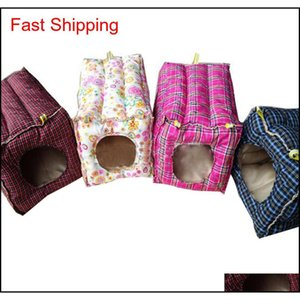 Hammock Hanging Bed Cotton Toy House Cage For Rabbit Guinea Pig Ferret Small Animals With qylWYt yh_pack