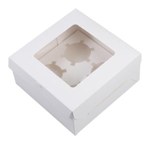 12pcs Wedding Packaging Box Paper Candy Boxes Cake Package Handy Cake Wrapping Boxes Paper Cupcake Packing Box (4 12 Grid) sqcvvL