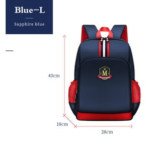 Pupil Students Children England Style Backpack School Bags For Boys Bagpack Mochila Escolar Hombre Waterproof Backpacks Kids Bag 200929