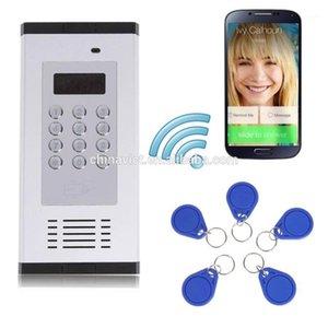 Macchina per la tenuta del cibo per vuoto GSM 3G 4G Appartamento Sistema di controllo degli accessi intercom11