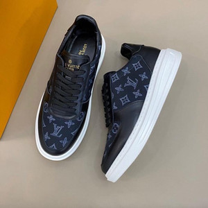 New Italy Style Fashion skull Men Lace-up Black LO-TOP SNEAKERS LUXURY Sneakers Slide-safe transparent rubber sole Casual Flats sneakers