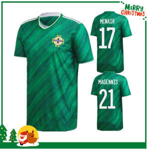 2020 Nordirland Fussball Jersey Lafferty 2021 Home Erwachsene Männer + Kinder Kits Davis Magennis Evans McNair Boyce Football Hemd