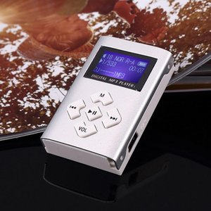 Mini Portable MP3 Music Player Clip Sport Music Player With LCD Screen Support TF Card Suitable For Walking Workout