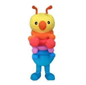 2019 Hot sale Custom Colorful Insect Bug Mascot Costume Adult Size Costume