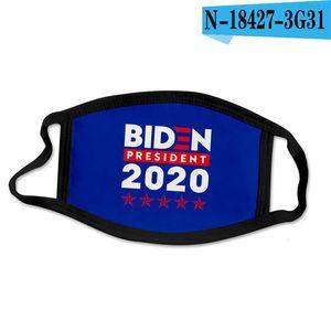 Campagna DHL 2020 Designer Face Mask Joe Biden US Presidential Election Poliestere Masks Supporto transfrontaliero Supporto per Border SD