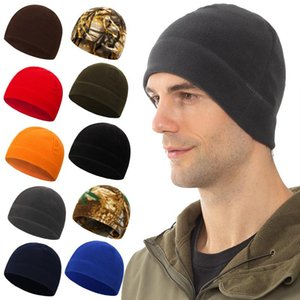 Hats Short Cuffed Cap Bonnet For Woman Men Skull Cap Short Flocking Fabric Beanie Casual Breathable Stretchy Hot