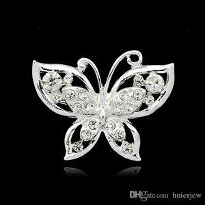 Fibules pour les femmes Design Mix strass cristal Petite taille fleur bouquet de mariage Pin fibules