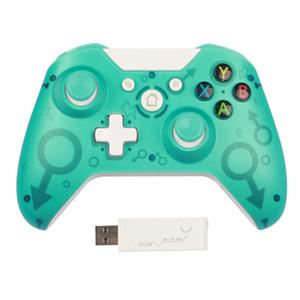 100% новый 2.4G беспроводной контроллер GamePad Precise Thumb Joystick GamePad для Xbox One / PS3 / PC Бесплатная доставка