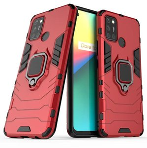 For Oppo Realme 7i Case Vibrant Loop Stand Rugged Combo Hybrid Armor Bracket Impact Holster Protective Cover For Oppo Realme 7i