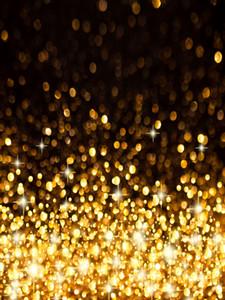 Or Bokeh tache Vinyle Photographie Noël Backdrops mariage Photo Booth bébé nouveau-né Fonds pour les enfants Birthday Party studio Prop