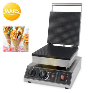 Commerciale Stroopwafel Waffle Cono Maker Syrup Waffle Custom Plate Plate Cone Baker Machine, Electric Ange-Stick Ice Cream Maker1