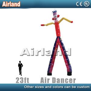 Folding Outdoor inflável Dancers Swingman Set, 23 pés de altura ar inflável Dancer Tubo Man Air para o seu negócio, Trade Show, evento, partido