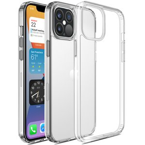 Suitable for iPhone 12 Pro Max 2020 mobile phone protective case transparent slim thin hard cover