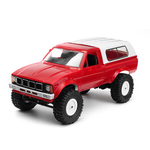 WPL C-24 C24 1 16 4WD 2.4G Military Truck Buggy Crawler Off Road RC Car 2CH Toy Kit Without Electric Parts 201124