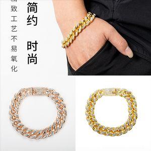 Amnr Seialoy Новый блестящий листовой костную цепочку для костной цепи популярной розовой браслет для женщин Европы