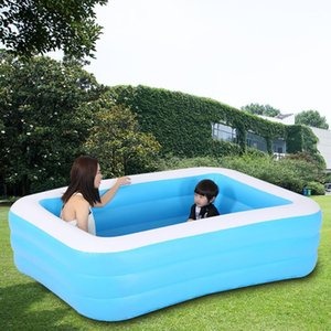 Piscina inflable para niños 3 capas Familia Super Grande Ocean Ball Pool engrosamiento Hogar grande Adulto Paddling1